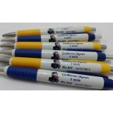 caneta personalizada com adesivo Pirituba