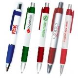 caneta personalizada com o nome da empresa Sapopemba