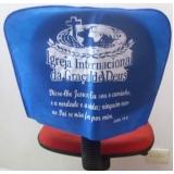 capa de cadeira para igreja