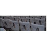 capa de cadeira para igreja São Gonçalo
