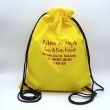 mochila saco promocional personalizada Parelheiros