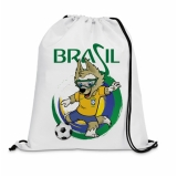 onde encontro comprar mochila saco personalizada 30x40 Imirim