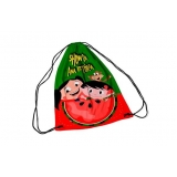 onde encontro comprar mochila saco personalizada atacado Santa Luzia