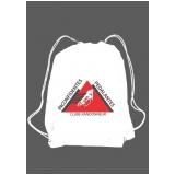 onde encontro comprar mochila saco personalizada em atacado Santa Efigênia