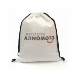 onde encontro comprar mochila saco personalizada para empresa Bairro do Limão