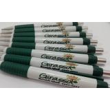 orçamento de caneta personalizada com o nome da empresa Cachoeirinha