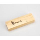 pendrive personalizado madeira