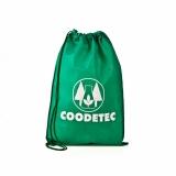 quanto custa mochila saco promocional personalizada Glicério
