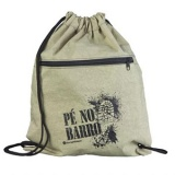 saco mochila com zíper preço Embu Guaçú
