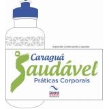 squeezes personalizados de plásticos Água Rasa