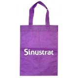 venda de sacolas promocionais tecido Niterói