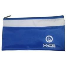 Porta Voucher personalizado em nylon 600 na cor Azul PV-03